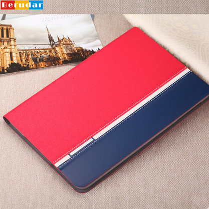 2016 new luxury leather case cover for ipad mini with holder