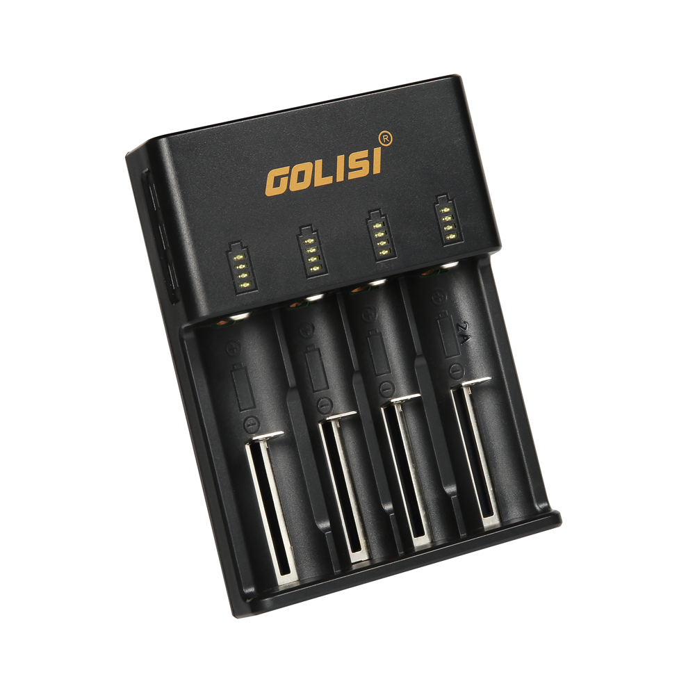 GOLISI O4 Safe Intelligent Fast Charger for Rechargeable Lithium Batteries