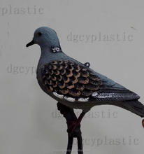 Bionic plastic pigeon park, garden and other outdoor decorations