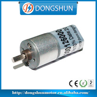 DS-16RS030 12v electric small dc gear reducer motor with reduction gearbox