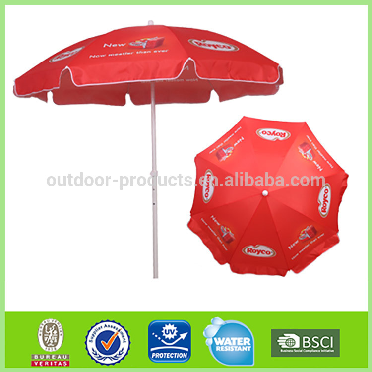 Latest designs 8 steel ribs Advertising umbrella Outdoor umbrella harga tenda payung