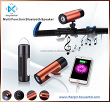 Outdoor Music Mini Portable 5200mAh Power Bank Wireless Bluetooth Speakers With Led Light