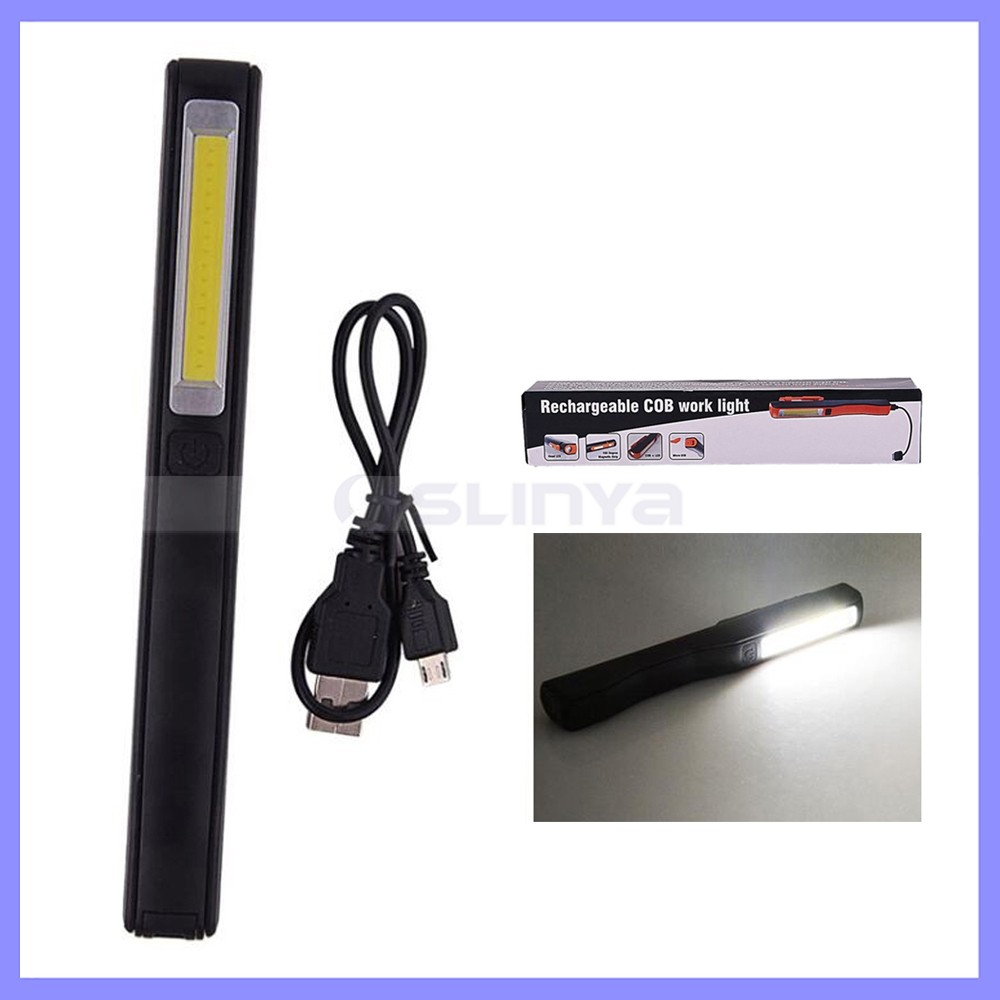 Strong Magnetic Rotation Hook Rechargeable COB LED Work Light