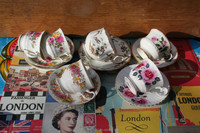 Englisch coffee cups bone China
