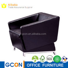 New design of single seater PU leather sofa chairs