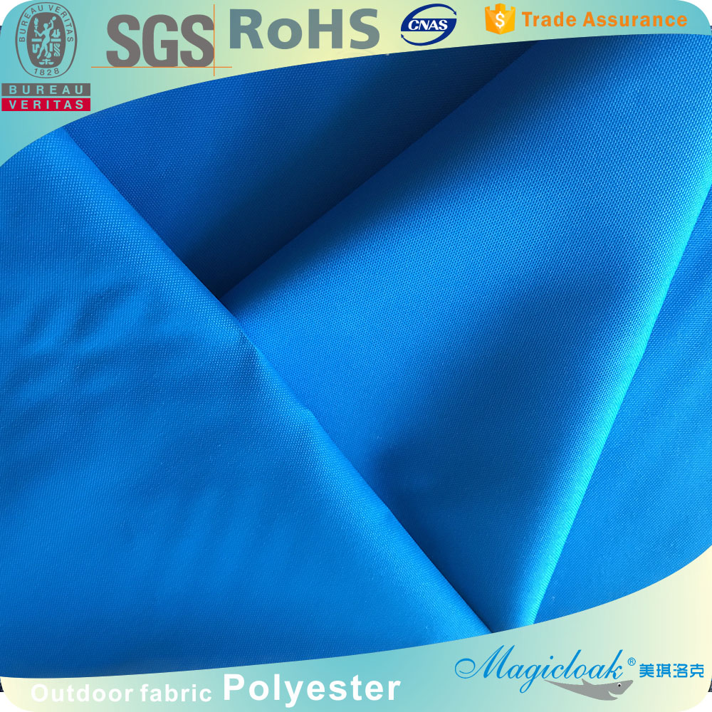 600 Denier Polyester Oxford fabrics With Pu coating Waterproof like acrylic material Navy Color For storage bags