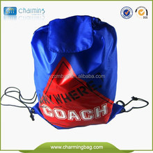 Popular Best Selling Promotional Polyester Cheap Large Drawstring Bags