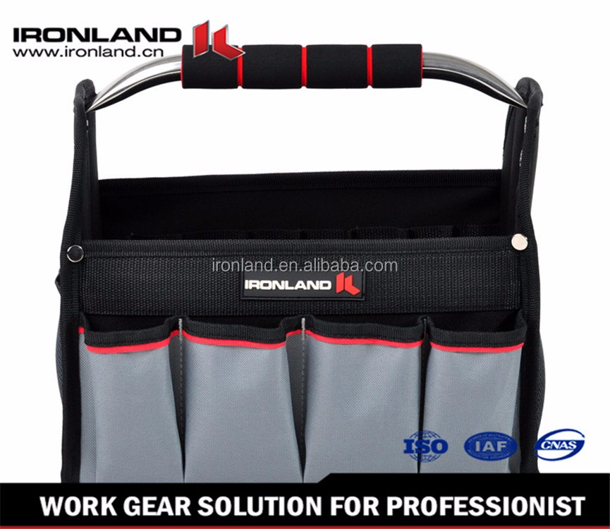 "OT-004 12""/16"" Steel Handle High Quality Strong polyester foldable bag"