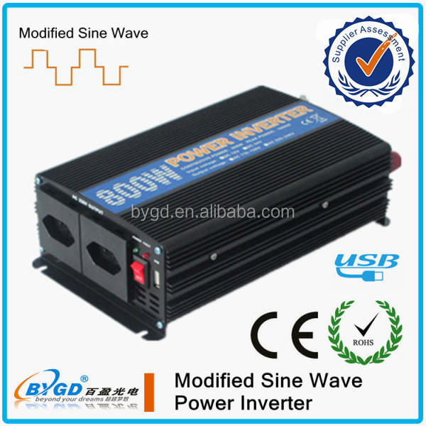home use good quality inverters, converters 300w-3000w 12v-220v