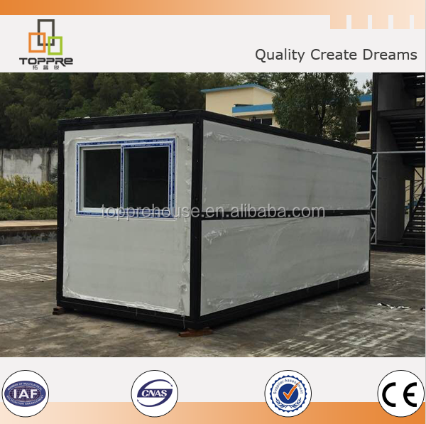 low cost container homes prices 20ft prefabricated folding container house