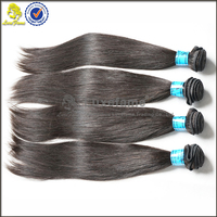 2015 Luxefame Hair Free Shiping wholesale Silky Straight Wave 100% Virgin Raw brazilian hair 32 inch