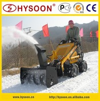 China Supplier Mini Skid Loader with Snow Thrower