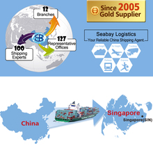 Ocean container forwarder sea freight shipping services rates from china shenzhen shanghai to singapore