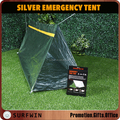 factory direct sale top quality silver emergency tube tent