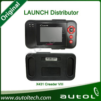 Launch Distributor Original LAUNCH Creader VIII Professional Auto OBD2 OBDII Code Reader Scanner Creader 8 Super scanner