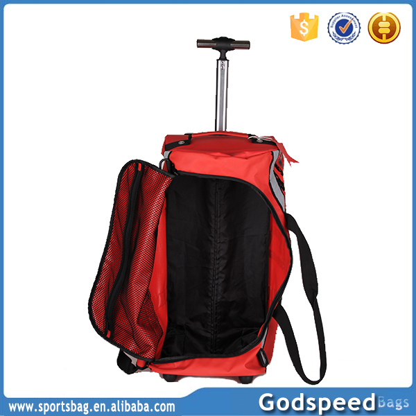 2018 high quality lorry school trolley waterproof tarpaulin bag
