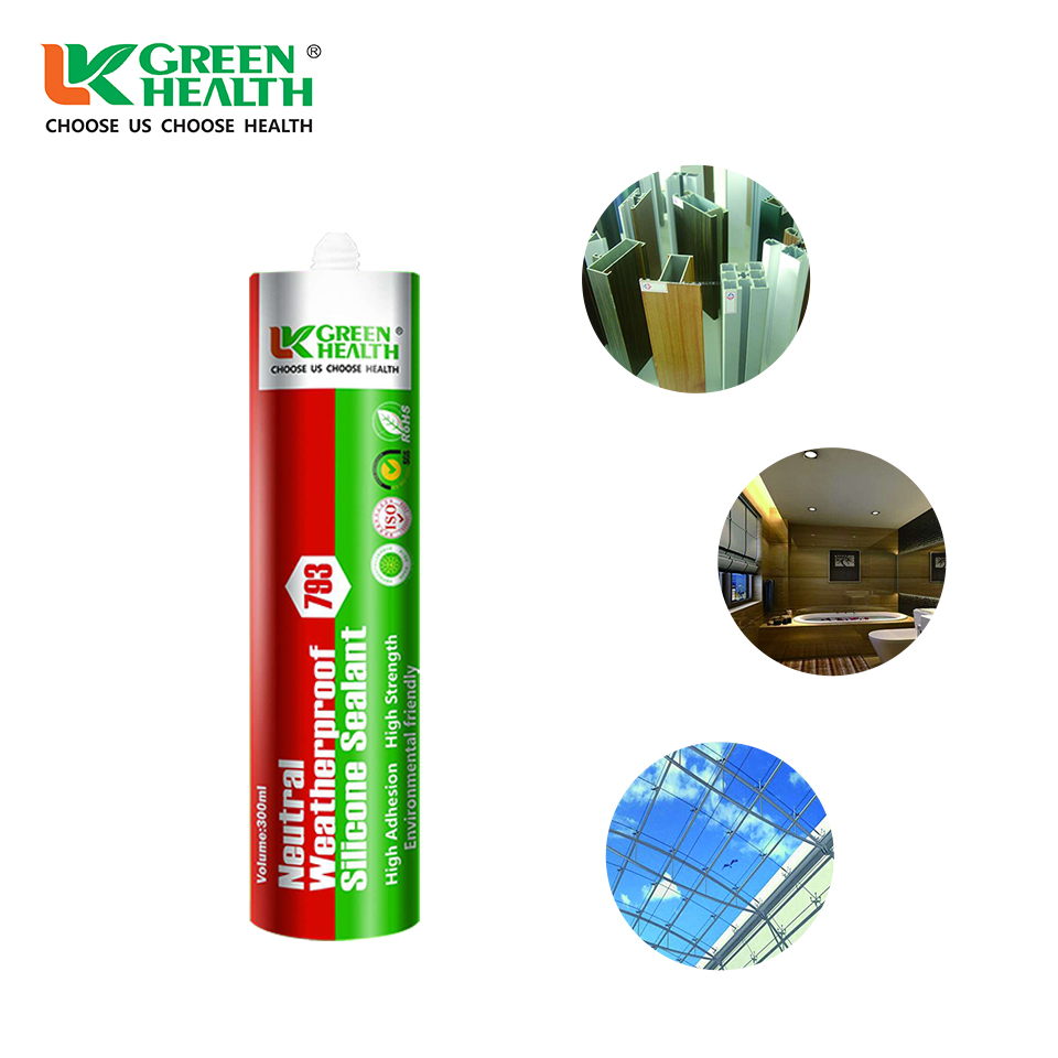 New Design Double Glazing Glass Fixing Silicone Sealant