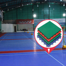PP interlocking futsal flooring outdoor
