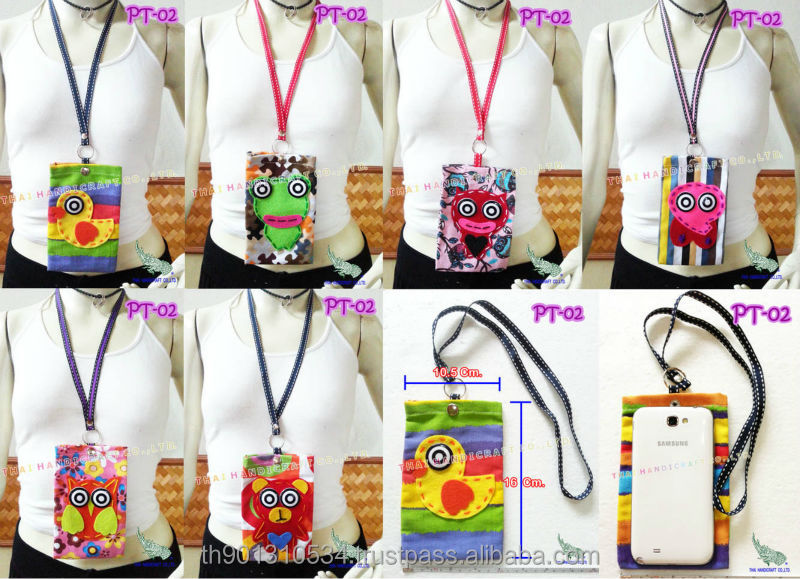 Mobile bag phone bag for kids handmade bag patchwork fabrics cheap price