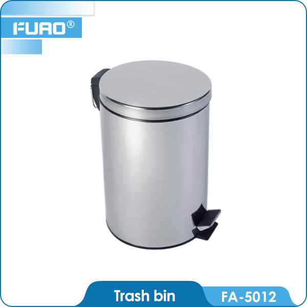FUAO Stainless Steel <strong>Waste</strong> Bins 9l Trash Bins