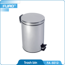 FUAO Stainless Steel Waste Bins 9l Trash Bins