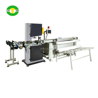 High Speed Stable Full Automatic Band Saw Cutter for toilet paper
