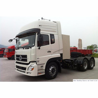 Dongfeng commercial truck Tianlong 385 horsepower 6X4 LNG tractor (DFL4251AX12A)