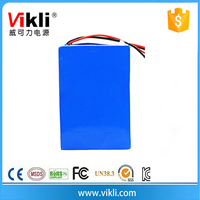 Lithium Polymer Components And Soft Pack Composed Type 24V 80AH Battery