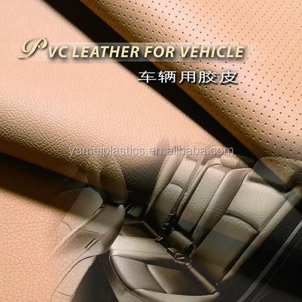PVC Vinyl Synthetic Leather for Auto Aftermarket Car Seats