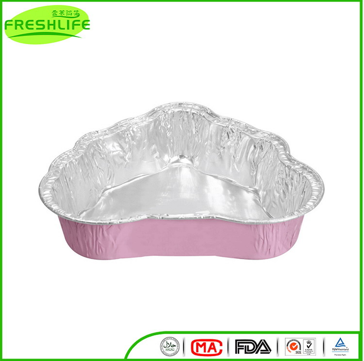 Cost price one cow color aluminum foil container