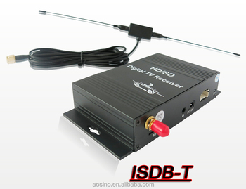 Top quality car isdb-t tv tuner receiver box