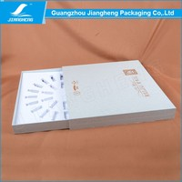 Hot! Accept custom order and luxury serum paper packaging gift box