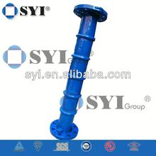 Ductile Iron Double Ex Socket Tee