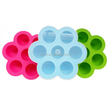 BPA Free SIlicone Ice Freeze Tray Baby Food Storage Container,egg bites mold