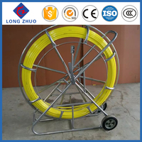 Duct Rodder For Pulling Cable, Fiberglass Cable Pusher