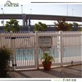 High quality new design picket fence used pool fence gate