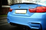 ML Estilo M Tecnologia De Fibra De Carbono Front Bumper Lip para BMW F06 F12 F06 F13 2014