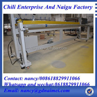 China three side seal cutting plastic bag making machine