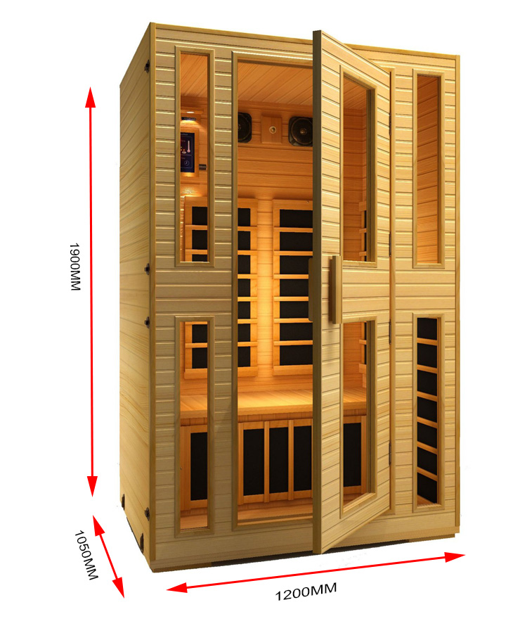 Russian dry sauna steam room