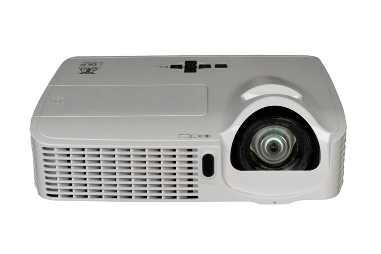 3D Ultra short throw project 5000Lumens High Quality Short Throw Data beamer use in daytime school outdoor projector