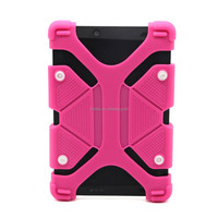 2016 China Cheap Buttons Universal Silicone Case for Tablets,Waterproof Dust/Shock Proof Silicone Cover Case For iPad 2 3 4