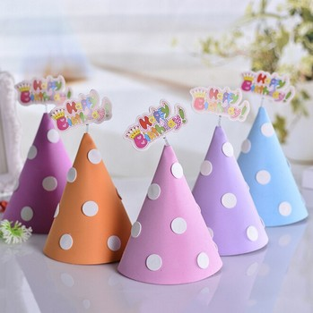 Hat Manufacturer Wholesale Christmas&Birthday Presents Birthday Gift Paper Hat