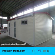 Low cost and duable sandwich panel prefabricated house