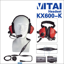 VITAI KX600-K Adjustable and Noise-cancelling Aircraft Headsets