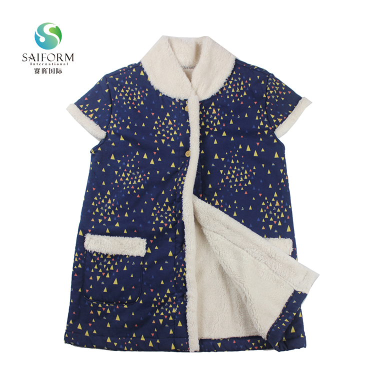 Wholesale kids child vests outwear girl clothing winter fancy warm coats