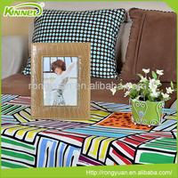 High quality home decoration resistance to fall off leather photo frame