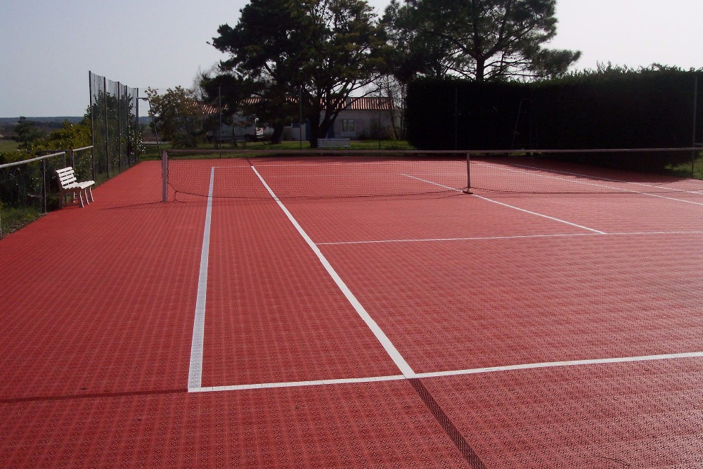 Heavy duty anti slip plastic volleyball sports flooring