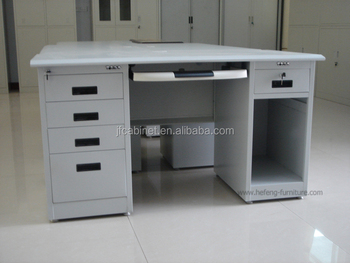 Hot Selling Office Computer 4 Drawer Metal Desk