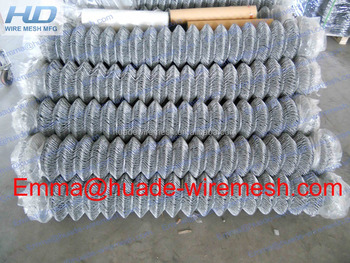 Cheap galvanized chain link mesh