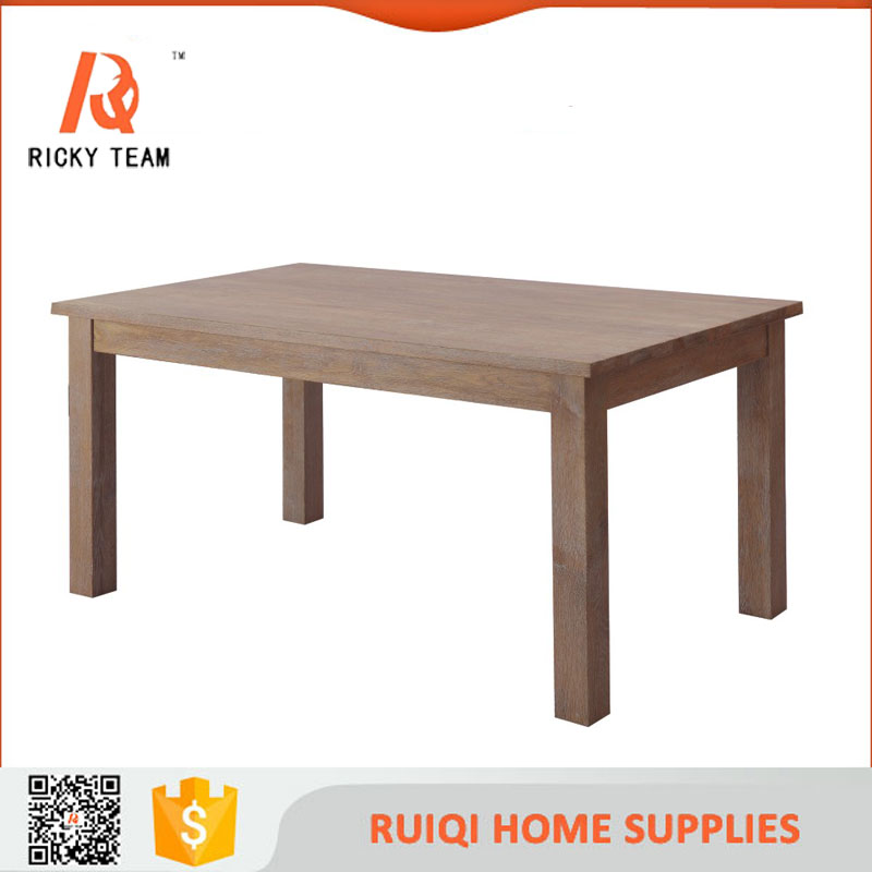 Wood classic dining table elephant wood table